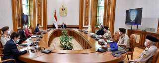 تفاصيل اجتماع الرئيس مع كبار المسؤولين لبحث منظومة إنتاج الأطراف الصناعية