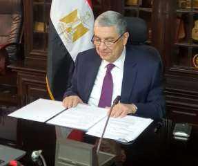 كواليس متابعات وزير الكهرباء والسفير القبرصي آخر مستجدات مشروع الربط الكهربائي بين البلدين