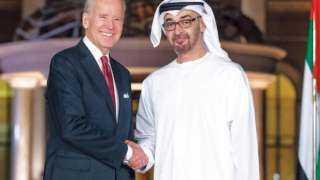 تصريحات خطيرة لـ بايدن خلال مباحثاته مع ولي عهد الإمارات