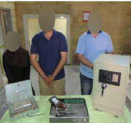 """سرقة جزينة المصنع """" كلمة السر """" فى مقتل فرد الأمن فى 15 مايو  بالقاهرة"""