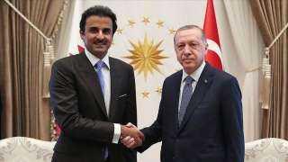 تفاصيل مباحثات أردوغان وأمير قطر