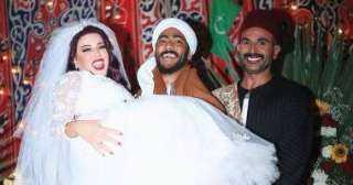 سمية الخشاب :محمد رمضان استأذن مني قبل التعاقد مع أحمد سعد