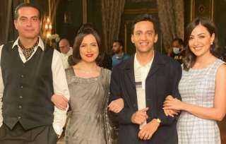 """ريهام عبد الغفور: سعيدة بالتعاون لأول مرة مع ناردين فرج ونبيل عيسى في مسلسل """"قصر النيل"""""""