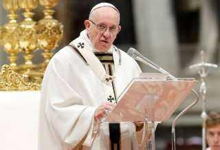 أول تعليق من بابا الفاتيكان على الاشتباكات في القدس
