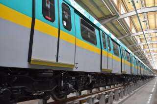 وصول القطار المكيف التاسع للخط الثالث للمترو إلى ميناء الإسكندرية