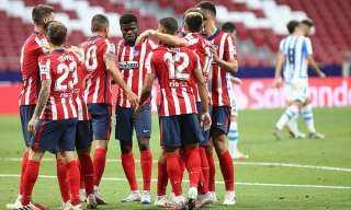 أتلتيكو مدريد يواجه ريال سوسيداد للاقتراب من لقب الدوري الإسباني