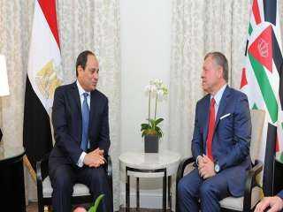 العاهل الأردنى يهنئ الرئيس السيسى بعيد الفطر المبارك
