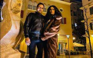 بالصورة.. غادة عبد الرازق تخطف الأنظار في أحدث ظهور لها برفقة زوجها