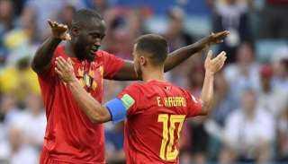 هازارد ولوكاكو يزينان قائمة المنتخب البلجيكي ليورو 2020