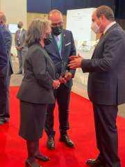 سد النهضة .. الرئيس السيسي يلتقي مع رئيسة أثيوبيا