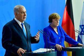 ميركل «تذبح» فلسطين بتصريحات مؤيدة لـ إسرائيل