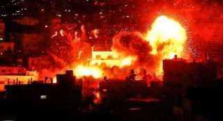 عاجل.. اندلاع حريق هائل بمحطة الغاز الطبيعي فى حيفا