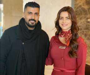 """نور اللبنانية عن أزمة محمد سامي: """"مخرج موهوب ومتميز وأعماله بتشهد على كده"""""""