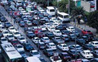 كثافات متحركة بالمحاور الرئيسية فى القاهرة والجيزة
