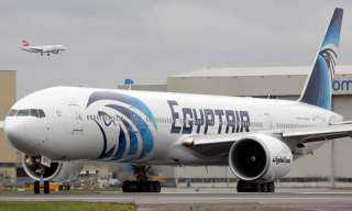 مصر للطيران تسير اليوم الجمعة 63 رحلة جوية لنقل 5617 راكبا