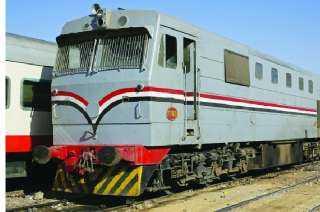 تفاصيل حادث تصادم جرار بقطار فى محطة مصر بالإسكندرية