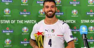 الإيطالي سبينازولا المتوج بلقب أفضل لاعب في افتتاحية يورو 2020: قدمنا مباراة مثالية