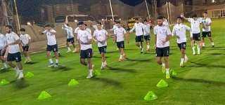 المنتخب الأولمبي يختتم تدريباته استعدادا لودية جنوب إفريقيا