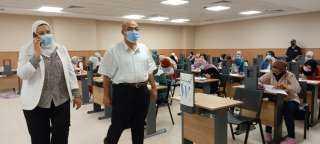 إنطلاق الاسبوع الثاني من امتحانات نهاية العامالدراسي بألسن عين شمس