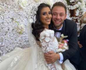 بالصور.. محمد علي رزق يحتفل بزفافه وسط أجواء عائلية