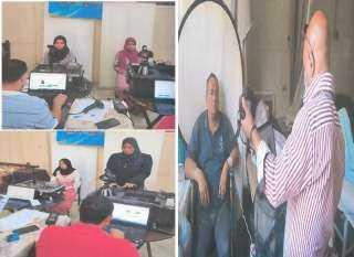 مأموريتين لإستخراج بطاقات الرقم القومى للمواطنين بمحال إقاماتهم والمستشفيات