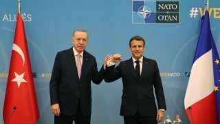 كواليس لقاء أردوغان وماكرون في بروكسيل