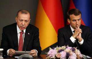ماكرون يكشف تفاصيل خطيرة عن مصير مرتزقة أردوغان فى ليبيا