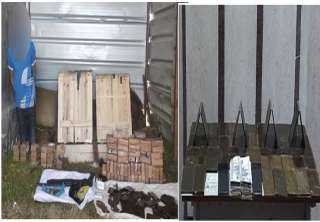 ضبط 1260 طربة حشيش بحوزة عدد من العناصر الإجرامية بالإسكندرية