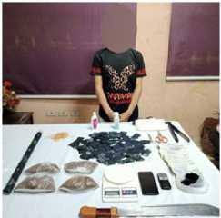 ضبط شخصلقيامه بتصنيع وترويج مادة الإستروكس المخدر بالقاهرة