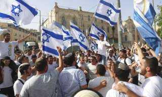 انطلاق مسيرة الأعلام الإسرائيلية بالقدس