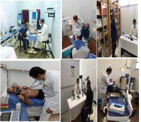 بالصور .. قوافل طبية من مختلف التخصصات لسجن وليمان برج العرب