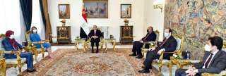 عاجل.. بيان من الرئيس السيسي بشأن الأوضاع في ليبيا