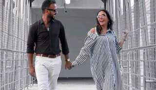 محمد مهران يحتفل بعيد زواجه الثاني: حبيبتي وشريكة حياتي