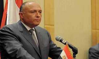 بالتفاصيل.. كلمة نارية لـ سامح شكرى في مؤتمر برلين 2 حول ليبيا