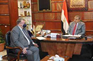 صور.. لماذا التقى وزير القوى العاملة بمدير منظمة العمل الدولية؟