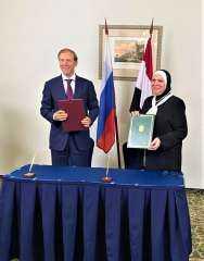 مصر وروسيا توقعان البيان الختامي لفعاليات الدورة الثالثة عشر للجنة المصرية الروسية المشتركة بموسكو