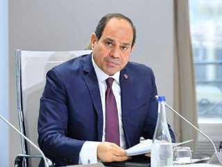 السيسى يشارك فى المؤتمر الدولى لدعم الشعب اللبنانى