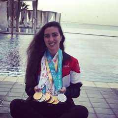 الاتحاد الدولي للريشة الطائرة يبرز مشاركة النائبة هادية حسني في أولمبياد طوكيو