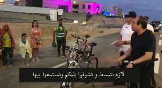 """عاجل.. نص حوارات السيسي مع """"مواطنين""""  في العيد"""