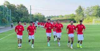 المنتخب الأولمبى يختتم تدريباته اليوم استعدادا لمواجهة الأرجنتين