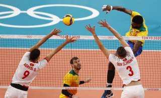 فوز البرازيل على تونس وإيطاليا على كندا في منافسات الكرة الطائرة بالأولمبياد