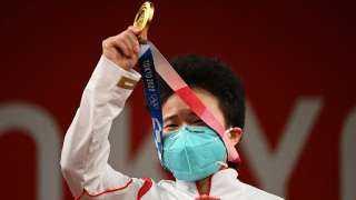 الصينية هو تشيهوي تتوج بذهبية في رفع الأثقال ضمن منافسات أولمبياد طوكيو