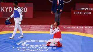التونسي محمد خليل الجندوبي يتأهل للنهائي في منافسات التايكوندو بأولمبياد طوكيو