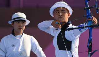 كوريا الجنوبية تحرز ذهبية القوس والسهم لفئة الفرق المختلطة بأولمبياد طوكيو