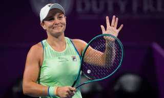 النجمة الأسترالية بارتي تودع منافسات التنس لفردي السيدات في أولمبياد طوكيو