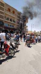 اقتحام مقرات حركة النهضة الإخوانية فى تونس