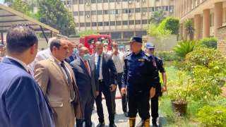 كشف لغز حريق وزارة التنمية المحلية
