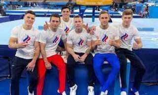 فوز الفريق الروسي بذهبية الجمباز الفني للرجال في طوكيو