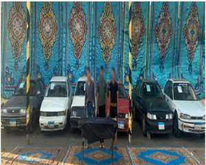 سقوط تشكيل عصابى بالقاهرة تخصص فى سرقة السيارات