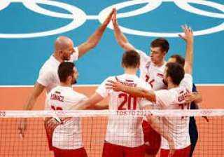 بولندا تهزم فنزويلا وتتصدر مجموعتها بمنافسات كرة الطائرة للرجال بأولمبياد طوكيو